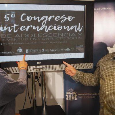 Imagen 6/11/19 Bienestar   Social   y   Praxis   Vega   Baja   presentan   el   5º Congreso   Internacional   de   Adolescencia   y   Juventud   en conflicto social