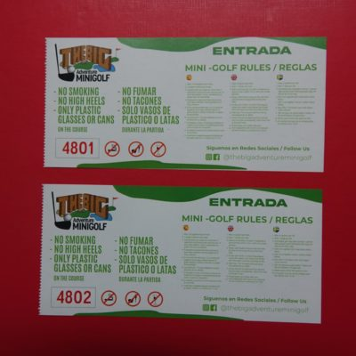 Imagen SORTEO THE BIG ADVENTURE MINI GOLF